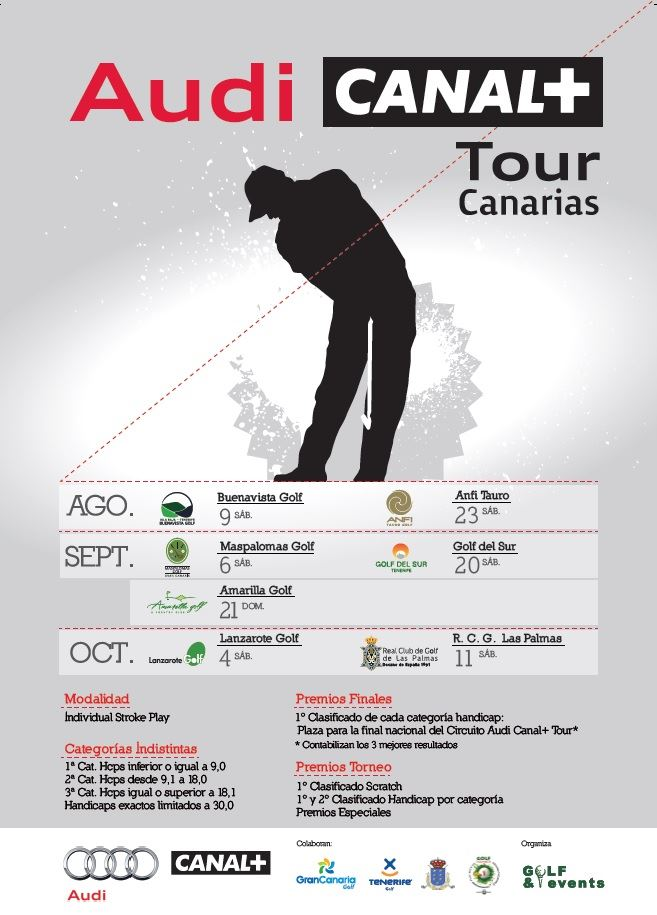 Torneo TORNEO AUDI CANAL+ TOUR CANARIAS