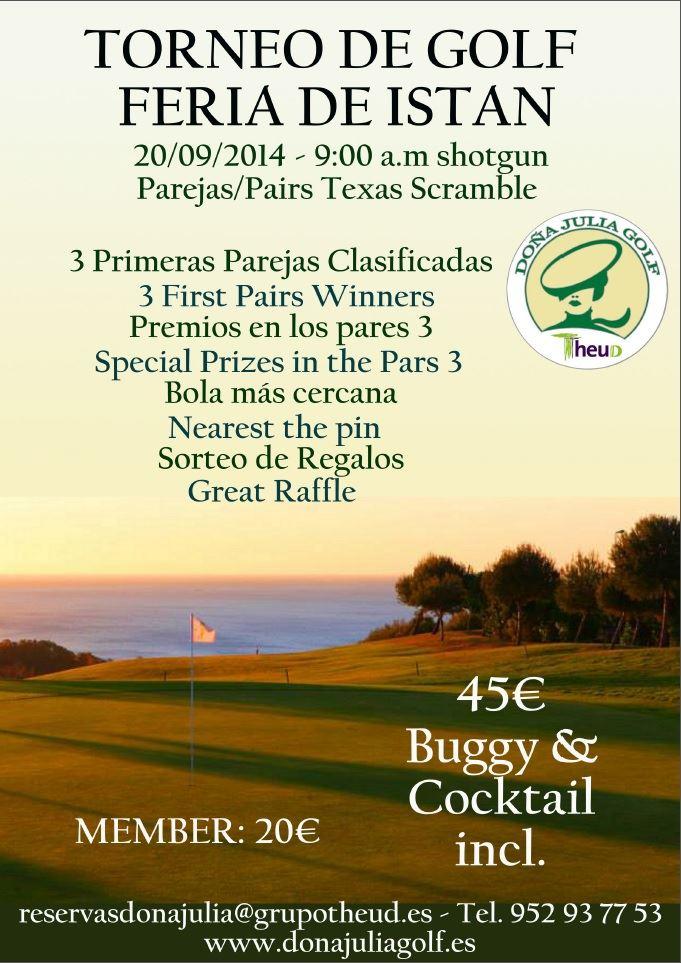 Torneo Torneo de Golf - Feria de Istán