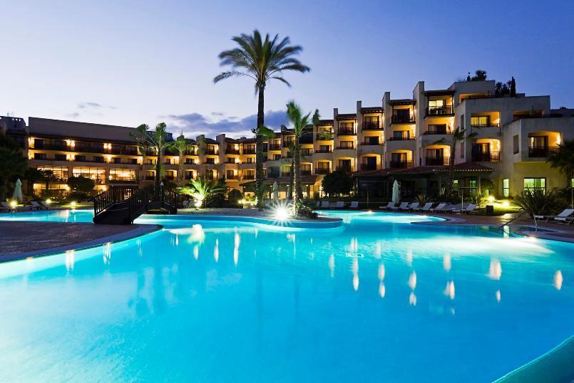 Reservar en el rompido golf en cartaya huelva for Hoteles en huelva capital con piscina